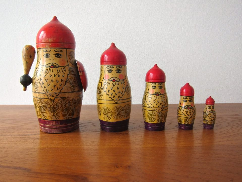 Beware the Russian Doll, Courtesy of Frau-Vintage