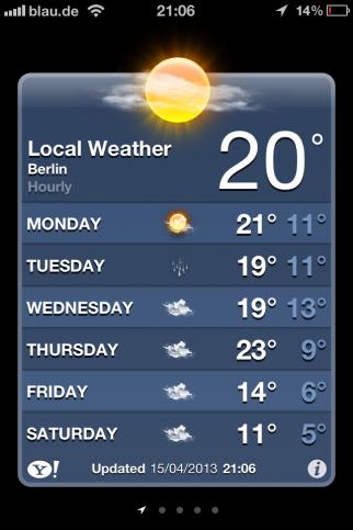 ベルリン 天気予報