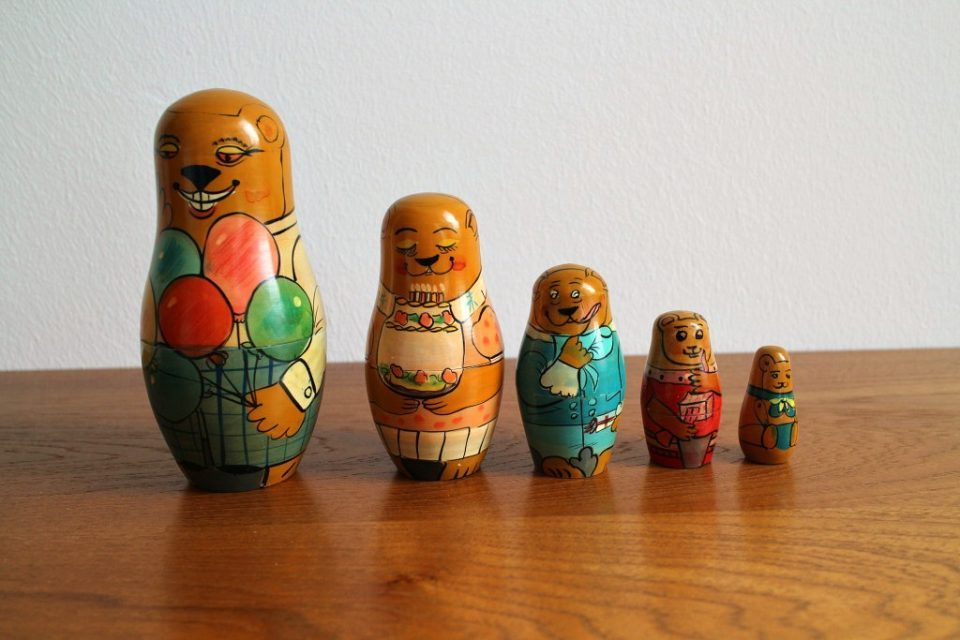 Another Russian Doll. Courtesy of Frau-Vintage