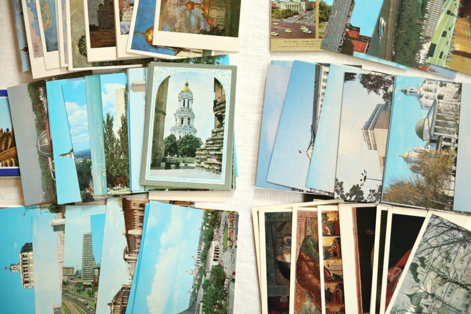 80年代激レアグッズ 旧ソ連時代の絵はがきセット
