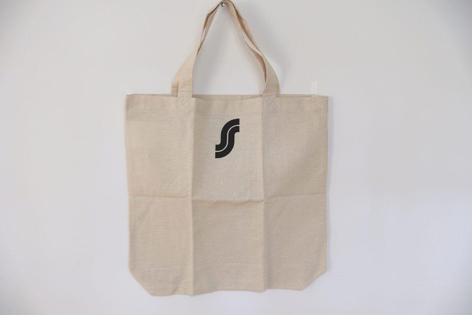 フィンランドS-Market ロゴ入りオリジナルエコバッグ