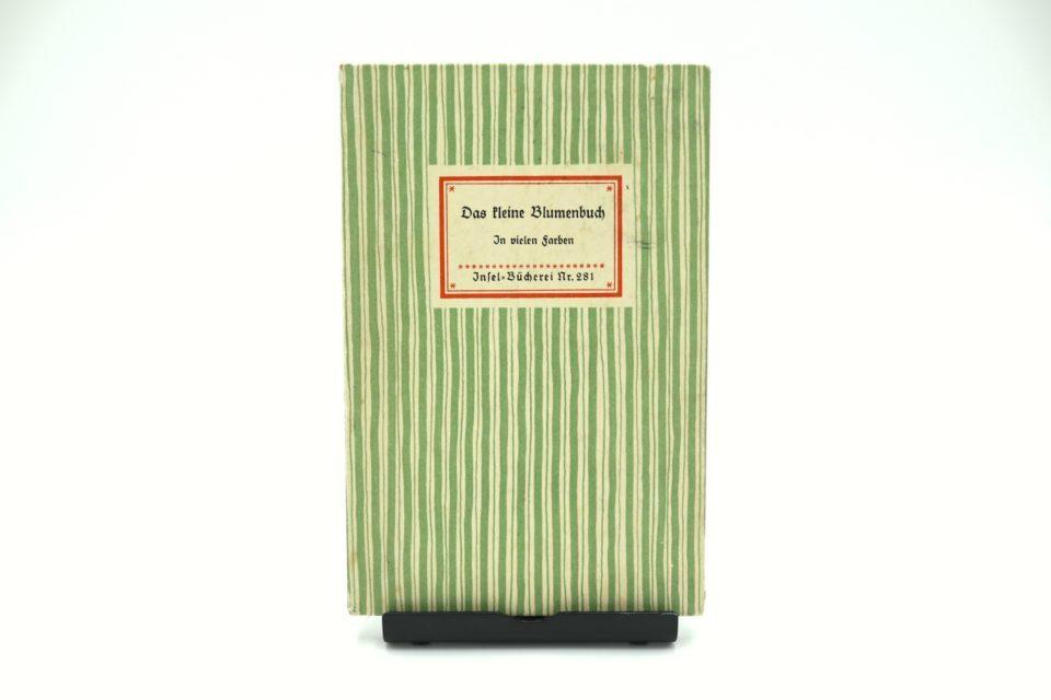 インゼル文庫 ヴィンテージ古書 野花の小図鑑 No.281