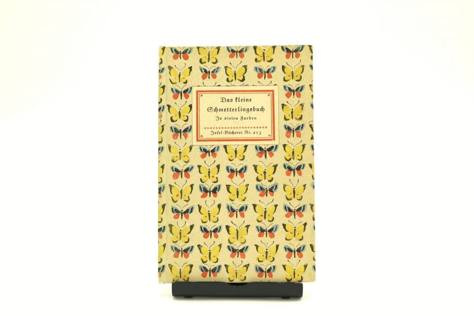 インゼル文庫213番 Das kleine Schmetterlingsbuch