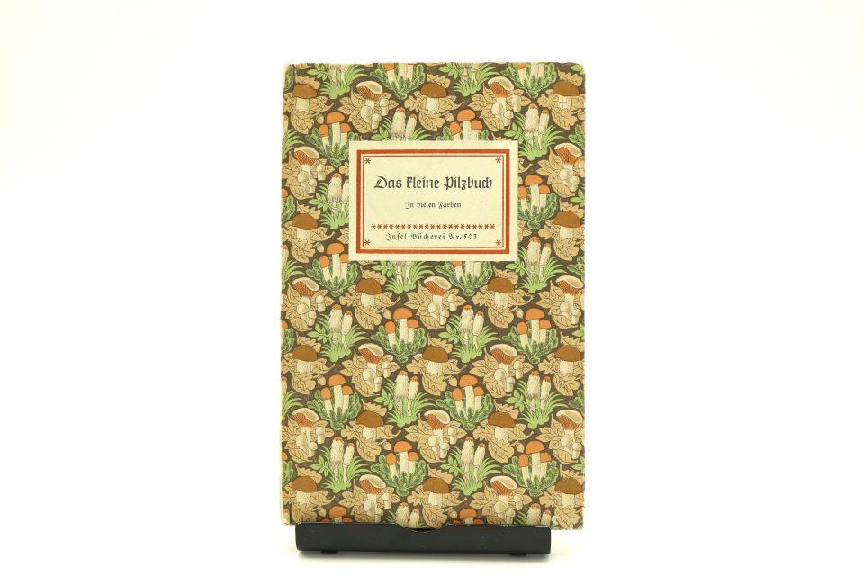 キノコ図鑑 Das kleine Pilzbuch インゼル文庫503番