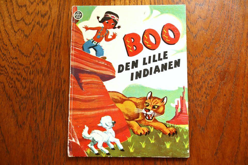 50年代レトロ ノルウェー版 Little Indian ヴィンテージブック