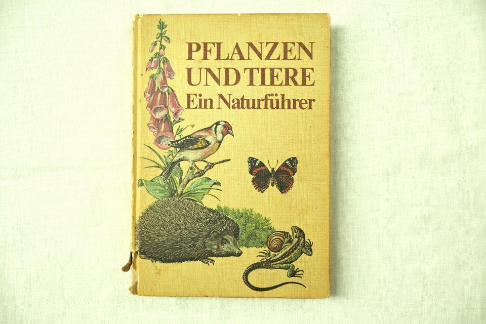 80年代レトロ動植物図鑑 PFLANZEN UND TIERE