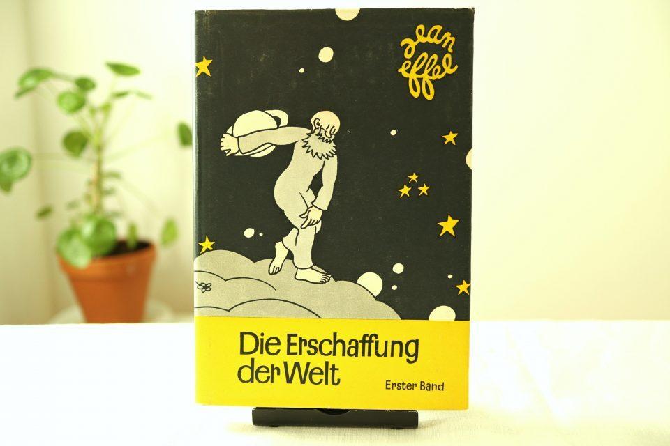 旧東ドイツ製 Die Erschaffung der Welt ヴィンテージイラストブック