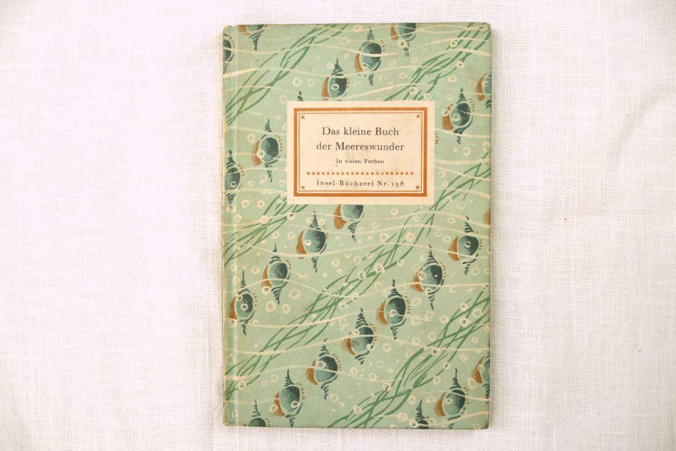超レア インゼル文庫No.158 Das kleine Buch der Meereswunder