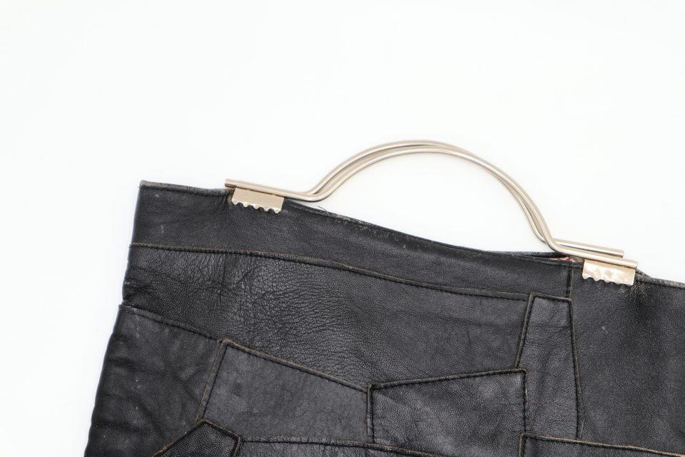 レトロ感ムンムンなレザー製ヴィンテージバッグ