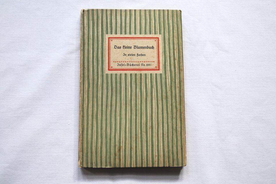 インゼル文庫 野花の小図鑑 No.281 Das keline Blumenbuch