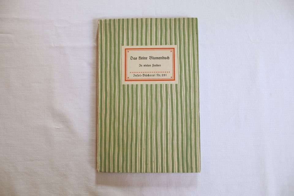 インゼル文庫 No.281 Das kleine Blumenbuch
