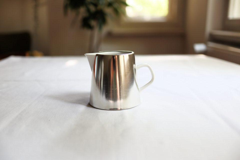 ヴィンテージMelitta 保温カバー付きミルクジャグ