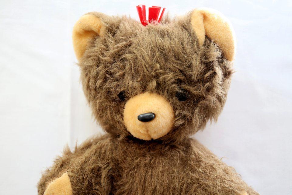 王冠付きぬいぐるみ ヴィンテージ・ベルリン熊
