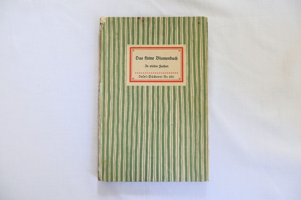 ヴィンテージインゼル文庫 野花の小図鑑 No.281 ドイツ古書