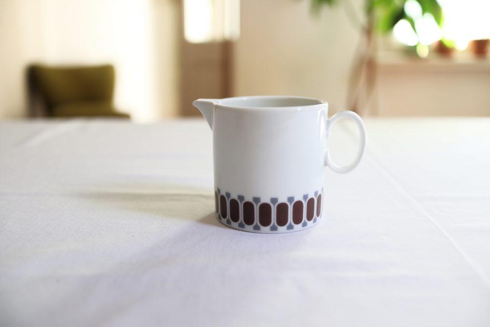 ヴィンテージThomas 陶器でできたレトロミルクジャグ