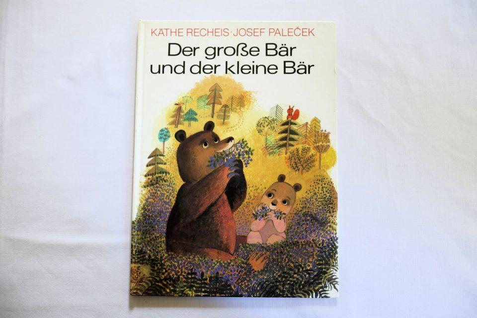 DDRオリジナル ドイツ語絵本 Der grosse Baer und der kleine Baer