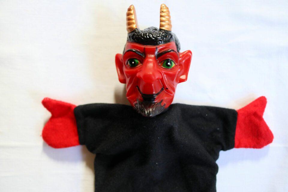 ヴィンテージ手人形 クランプスのハンドパペット
