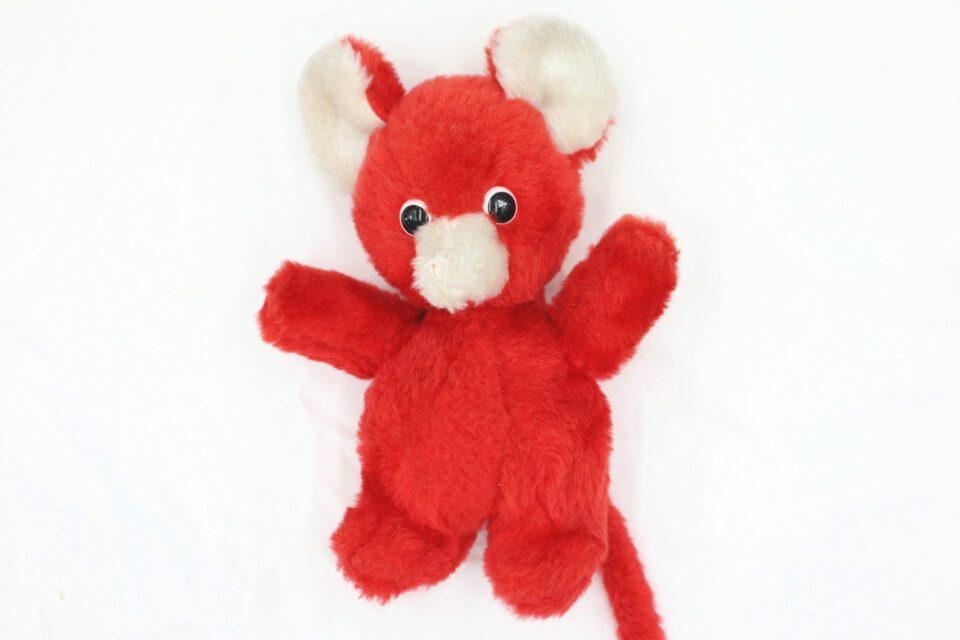 もこもこマズルのヴィンテージ赤ネズミ