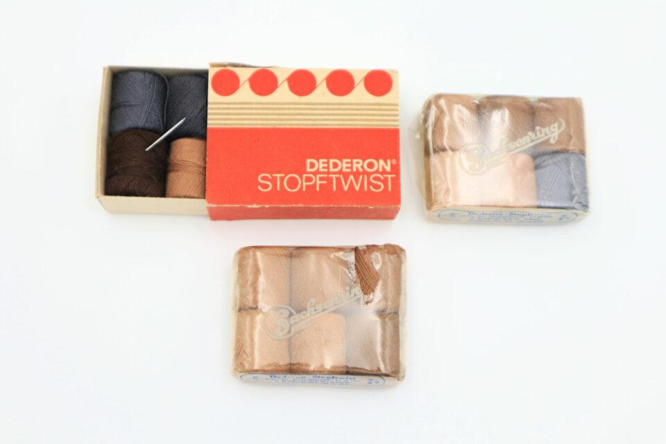 旧東ドイツ DEDERON製オリジナルボックス付き手縫い糸