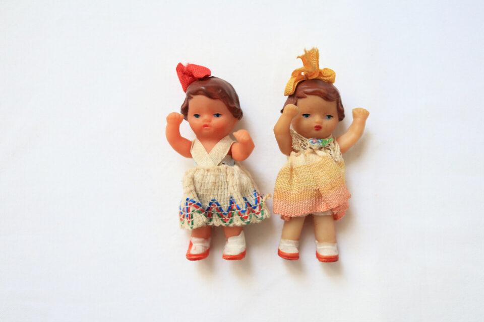 ヴィンテージARI人形・女の子2人組