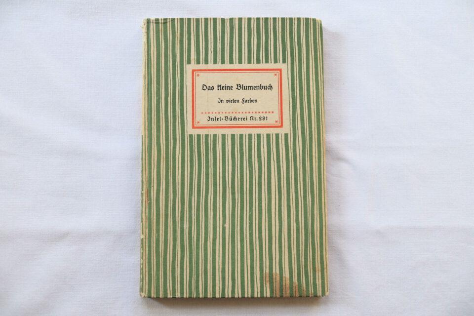 野花の小図鑑 No.281 インゼル文庫 DDR時代オリジナル
