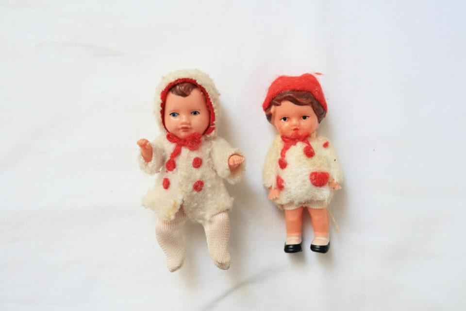 DDRヴィンテージ ARI人形ほかレトロドール2体セット